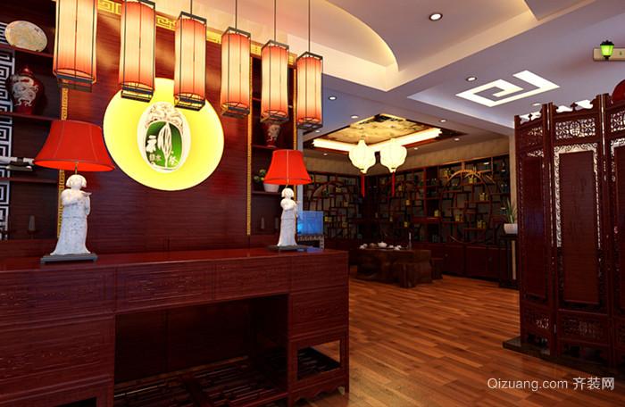金中环广场中式风格装修效果图实景图