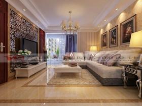 达安圣芭芭花园豪华欧典欧式别墅装修设计案例