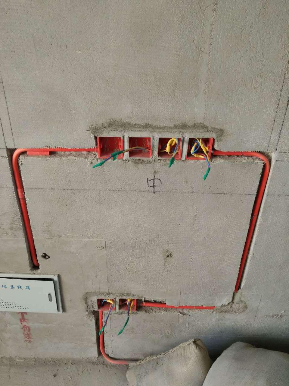 水电改造工程现代简约装修效果图实景图