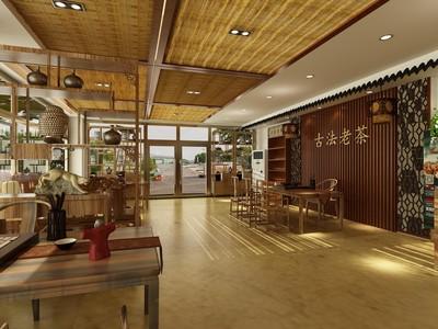 郑州茶楼装修设计案例