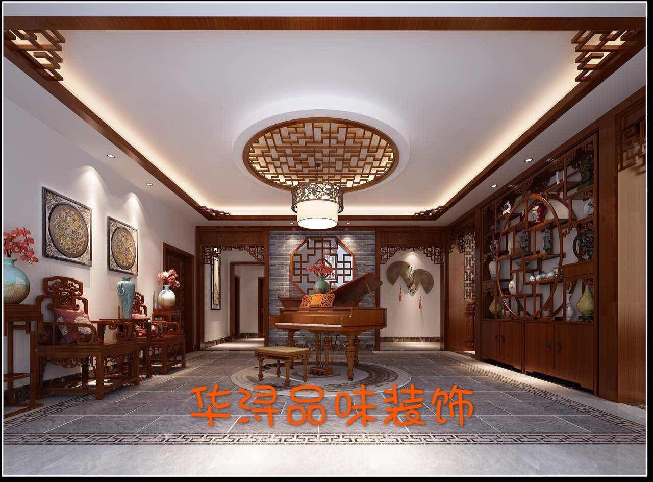 自建房中式风格装修效果图实景图