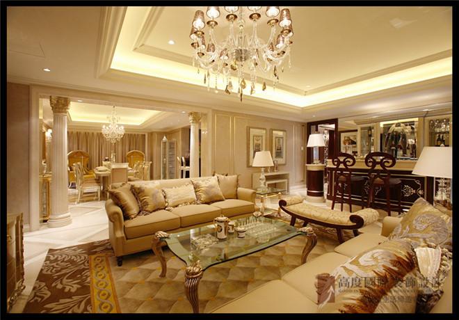 创意二部首席王刚行宫御东园180平米欧式风装修案例