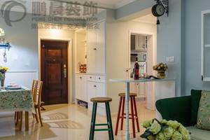 芜湖东方龙城清荷苑86平美式风格装修效果图案例