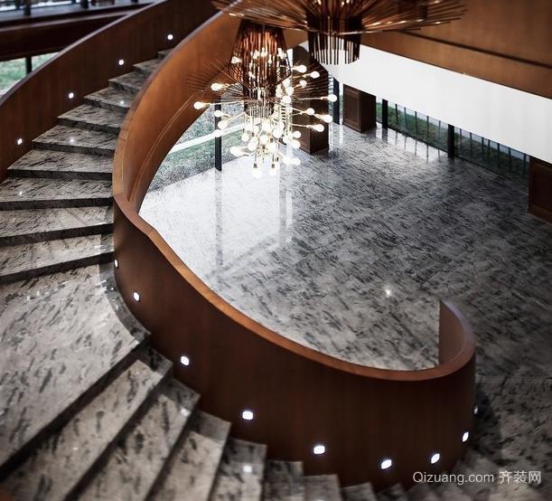 保利天悦·叁悦广场欧式风格装修效果图实景图
