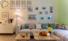 现代简约-芜湖新华联梦想城92平现代简约风格装修效果图案例