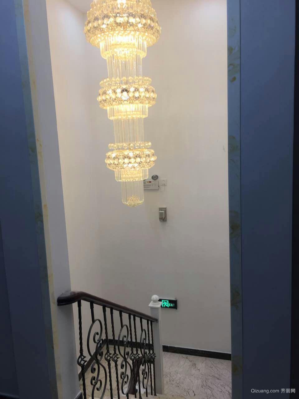 复地温莎堡别墅现代简约装修效果图实景图