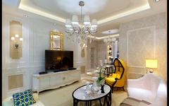 广厦东方明珠欧式风格装修案例