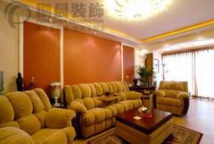 芜湖万科城88平欧式风格装修效果图案例