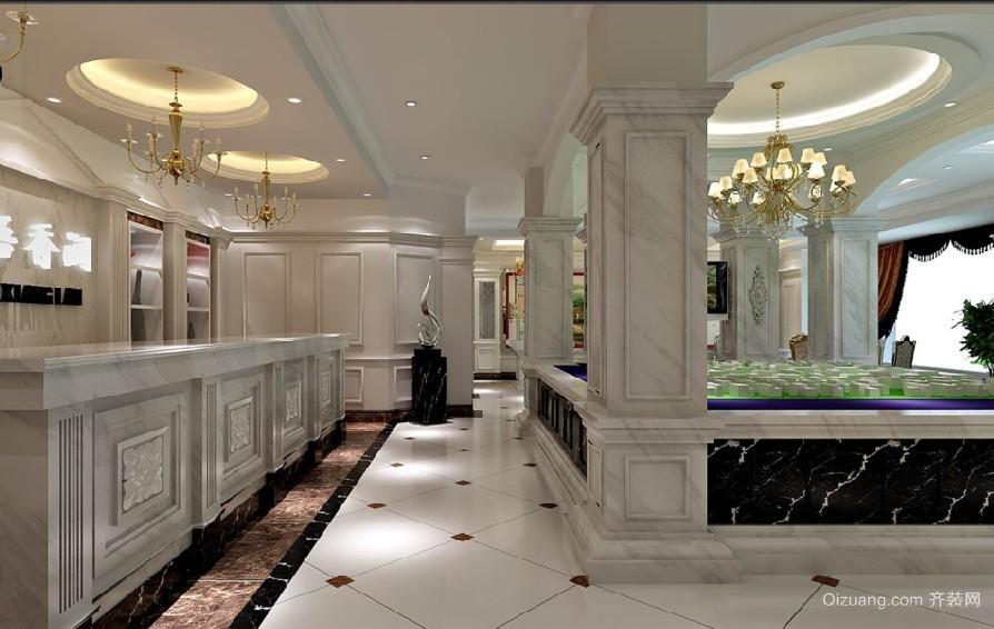 售楼中心现代简约装修效果图实景图