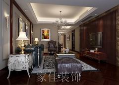 中式风格-扬州铂金府邸