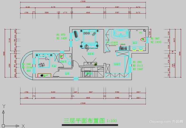 沈阳龙湖香醍漫步现代简约装修效果图实景图