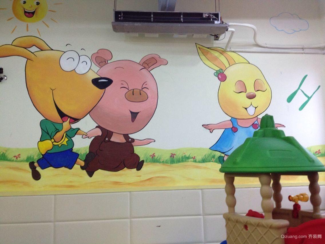 省公安厅幼儿园现代简约装修效果图实景图