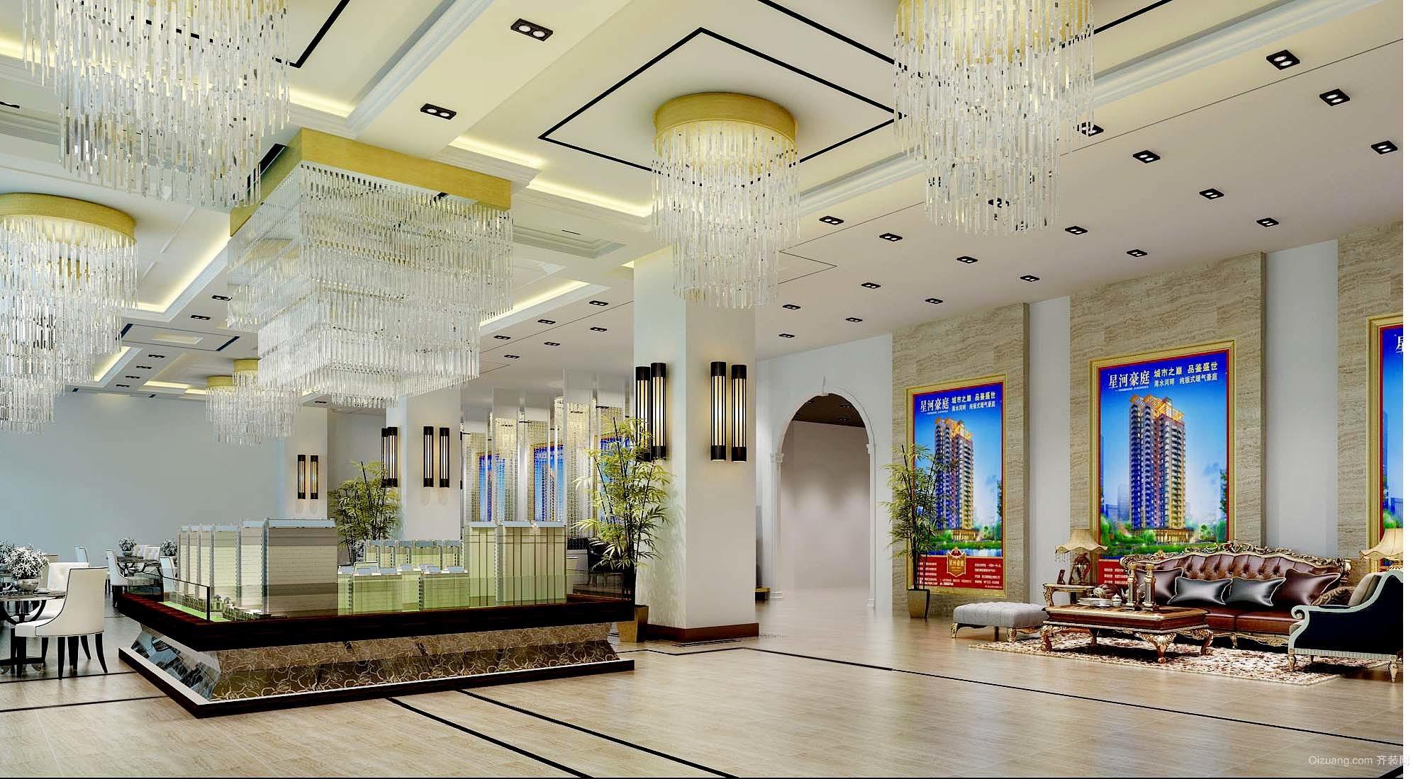 传媒大厦混搭风格装修效果图实景图