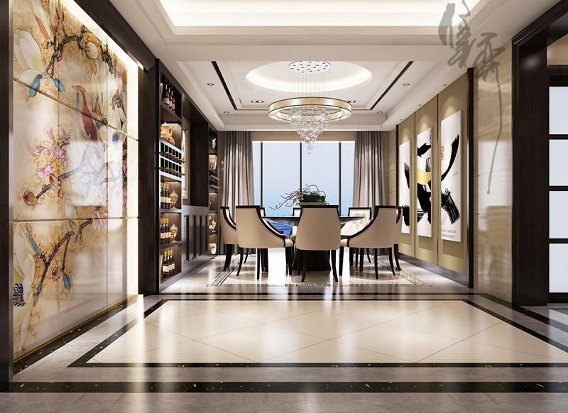 滨江明珠城现代简约装修效果图实景图
