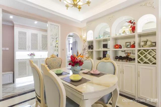 珠江棕榈园古典风格装修效果图实景图