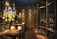 中式风格-咖啡厅