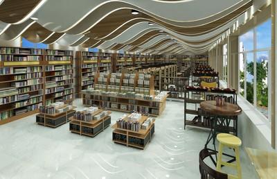 郑州图书馆装修设计案例