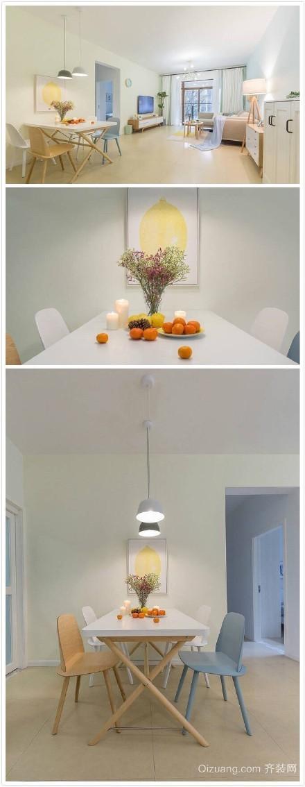 新月明珠花园现代简约装修效果图实景图