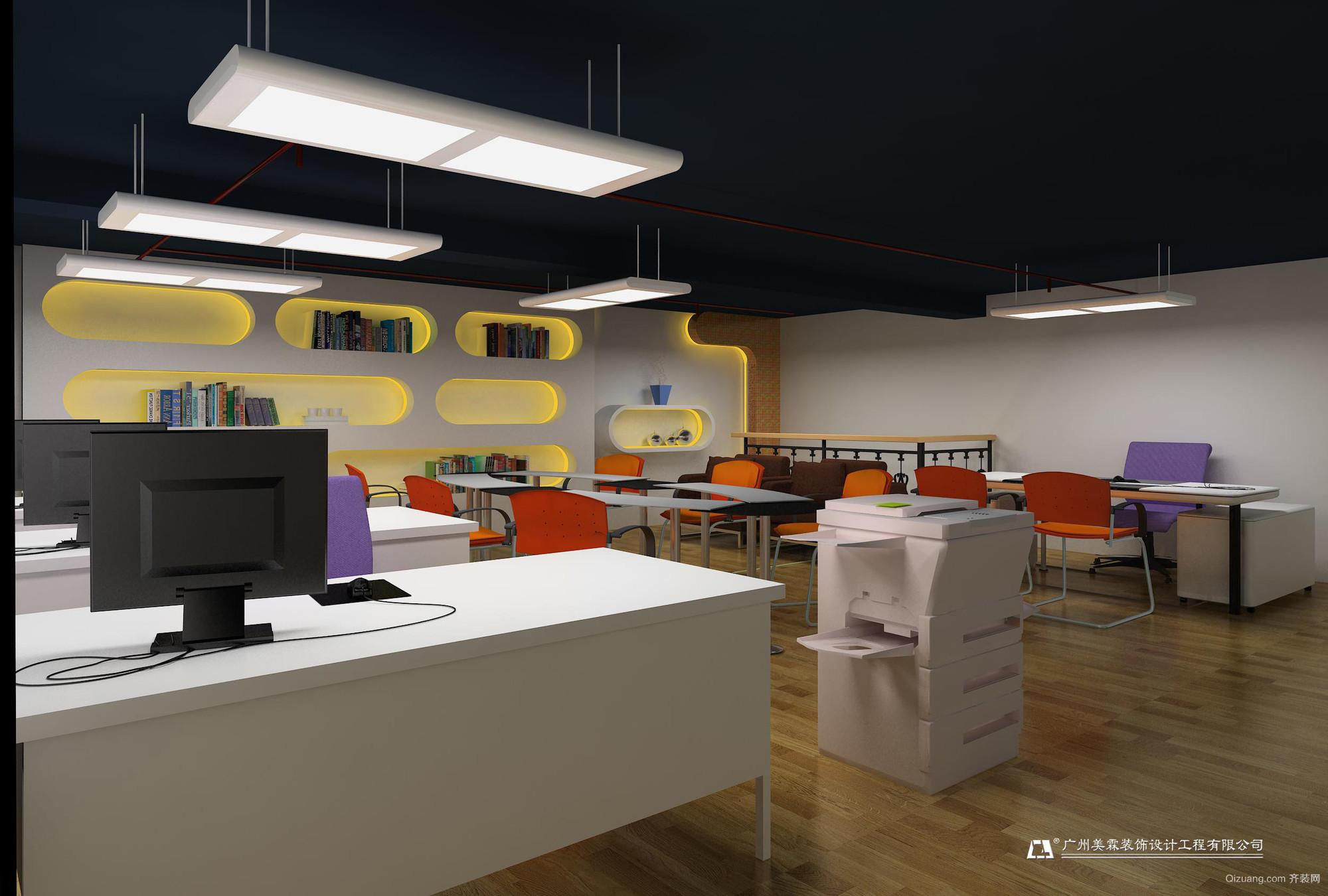 凯斯国际玩具城现代简约装修效果图实景图