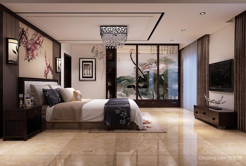 滨江翡翠园古典风格装修效果图实景图