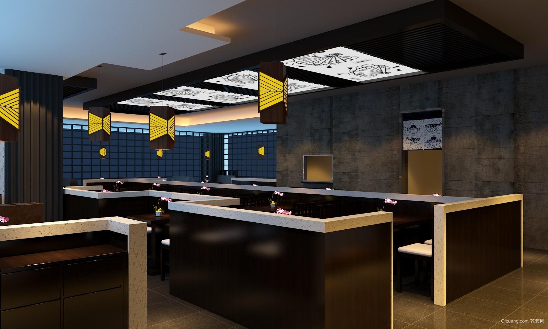 日本料理餐厅其他装修效果图实景图