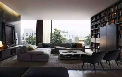 洛阳高端局 客厅2装修设计案例
