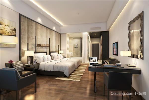 南澳碧海蓝天酒店现代简约装修效果图实景图