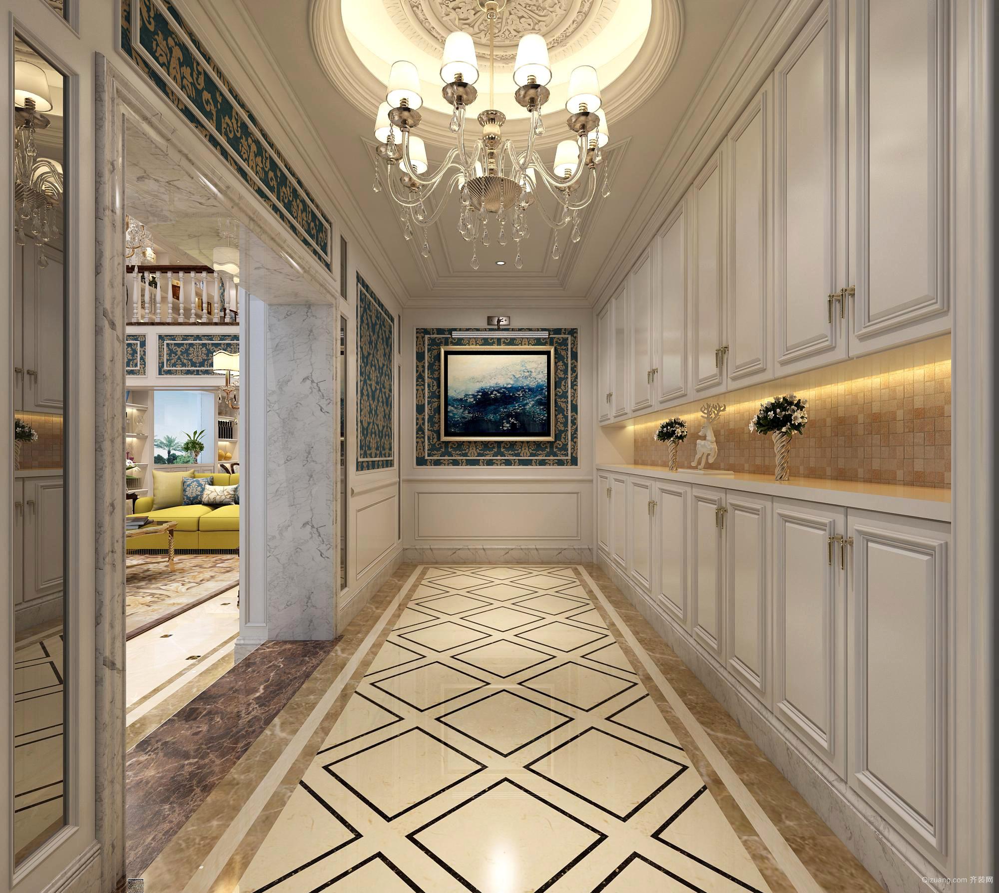唐姐自建别墅欧式风格装修效果图实景图