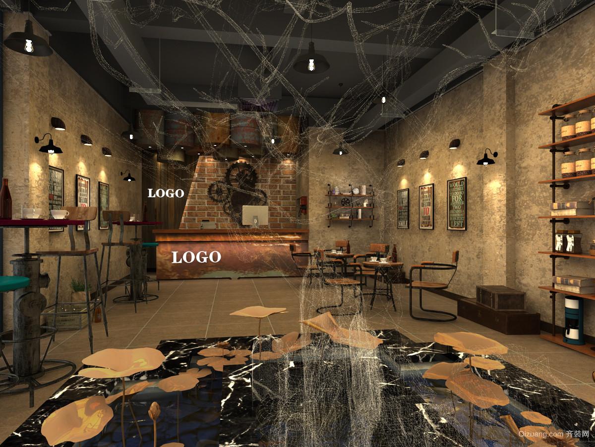阳光悦城金色山谷咖啡厅混搭风格装修效果图实景图