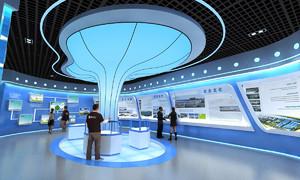 新能源公司展厅