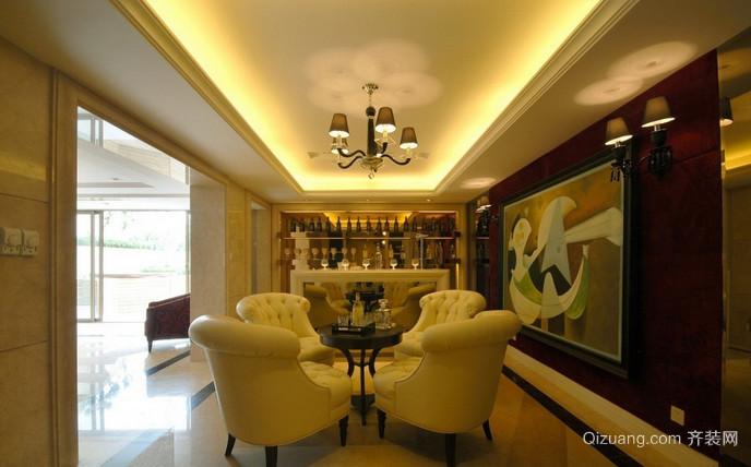 幸福家园古典风格装修效果图实景图