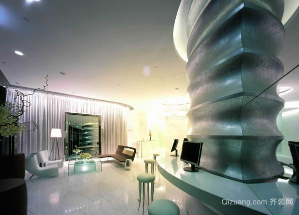 大厅现代简约装修效果图实景图