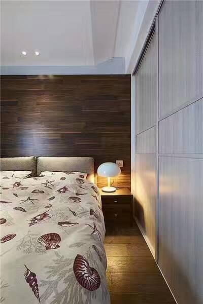 杭州台式简约风三居装修设计案例