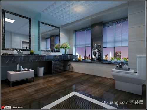 广和·澳海城现代简约装修效果图实景图