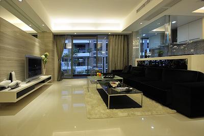武清现代三居室装修设计案例