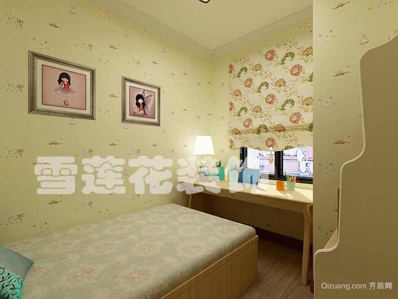 苏杭花园中式风格装修效果图实景图