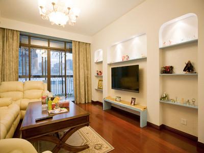 杭州(zhou)二室一廳(ting)地中海風混搭裝修設計案例