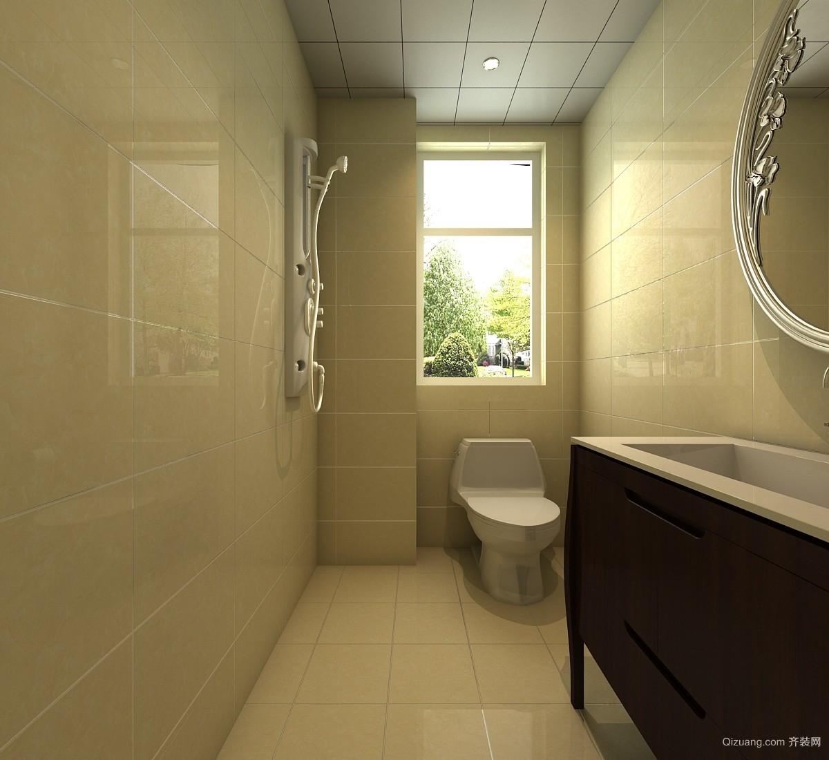 斯坦福院落中式风格装修效果图实景图