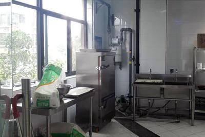 西安店小二中央厨房装修设计案例