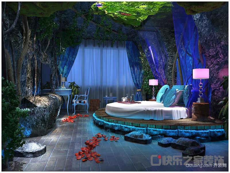 情侣主题酒店工装其他装修效果图实景图