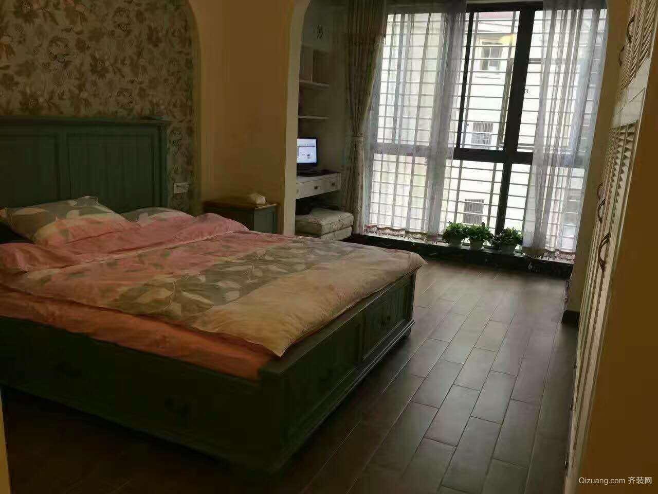 博达新桂城美式风格装修效果图实景图