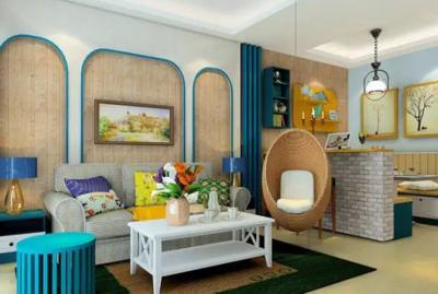 淮安三居室装修设计案例