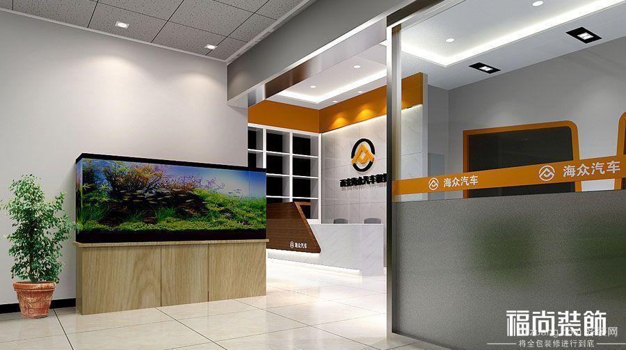 西安海众办公室其他装修效果图实景图