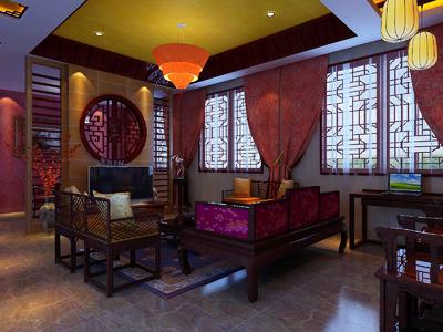 铜川茶楼装修设计案例