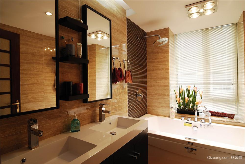 紫金豪庭中式风格装修效果图实景图