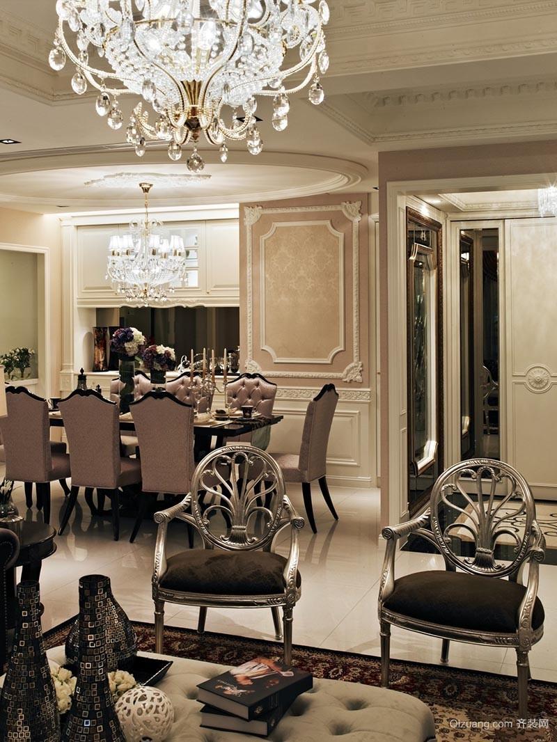 紫金豪庭古典风格装修效果图实景图