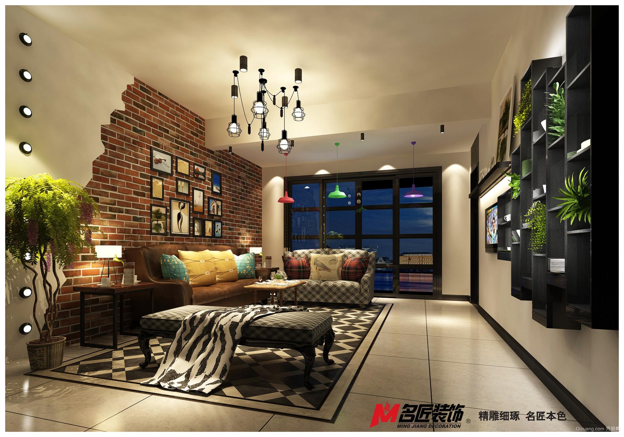 中海翠林现代简约装修效果图实景图