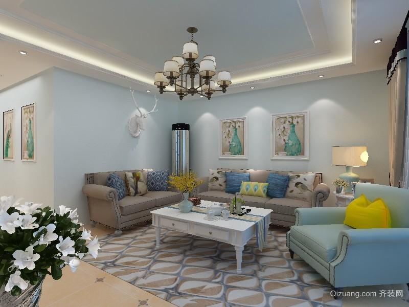 安泰佳苑地中海风格装修效果图实景图