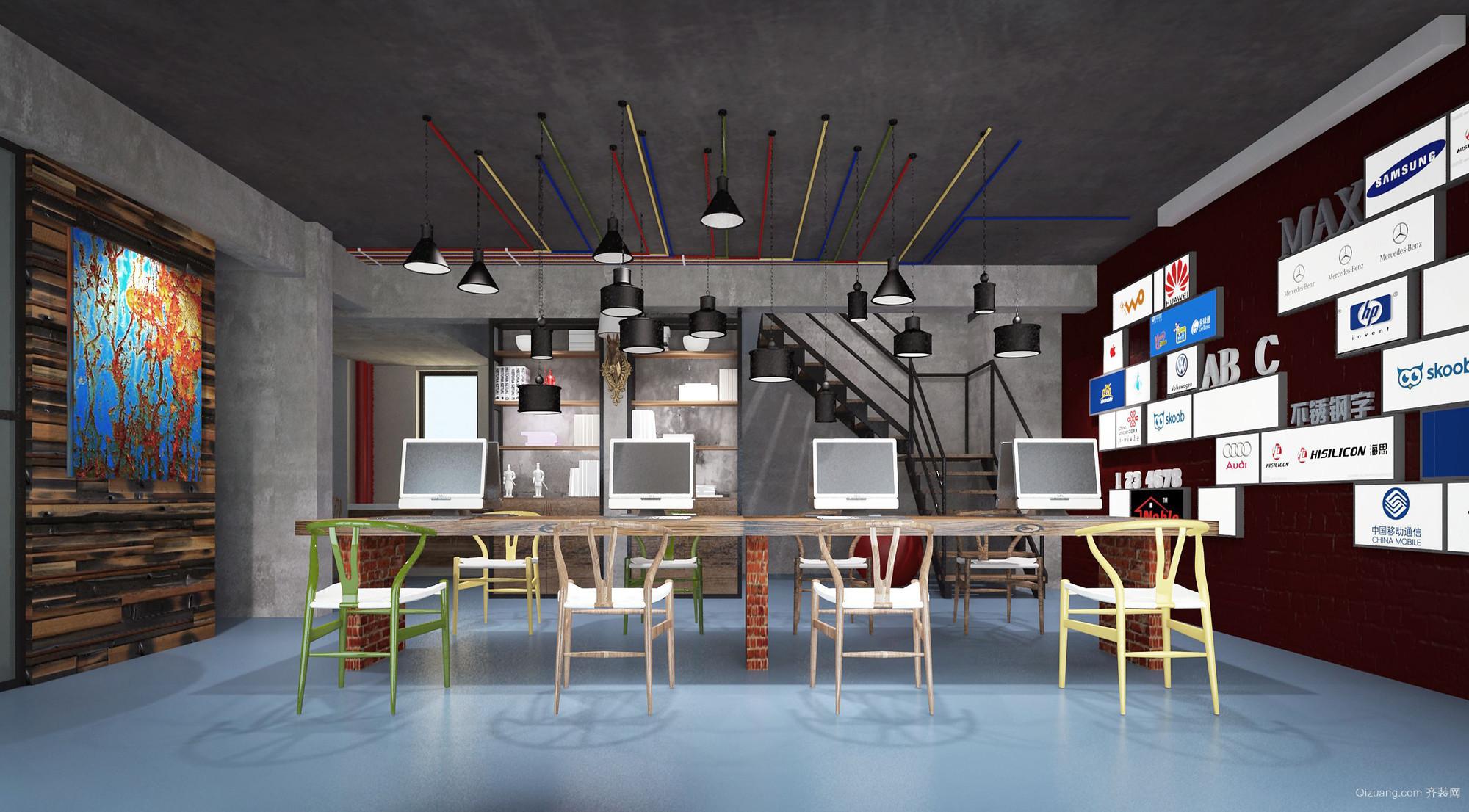 平安国际大厦现代简约装修效果图实景图
