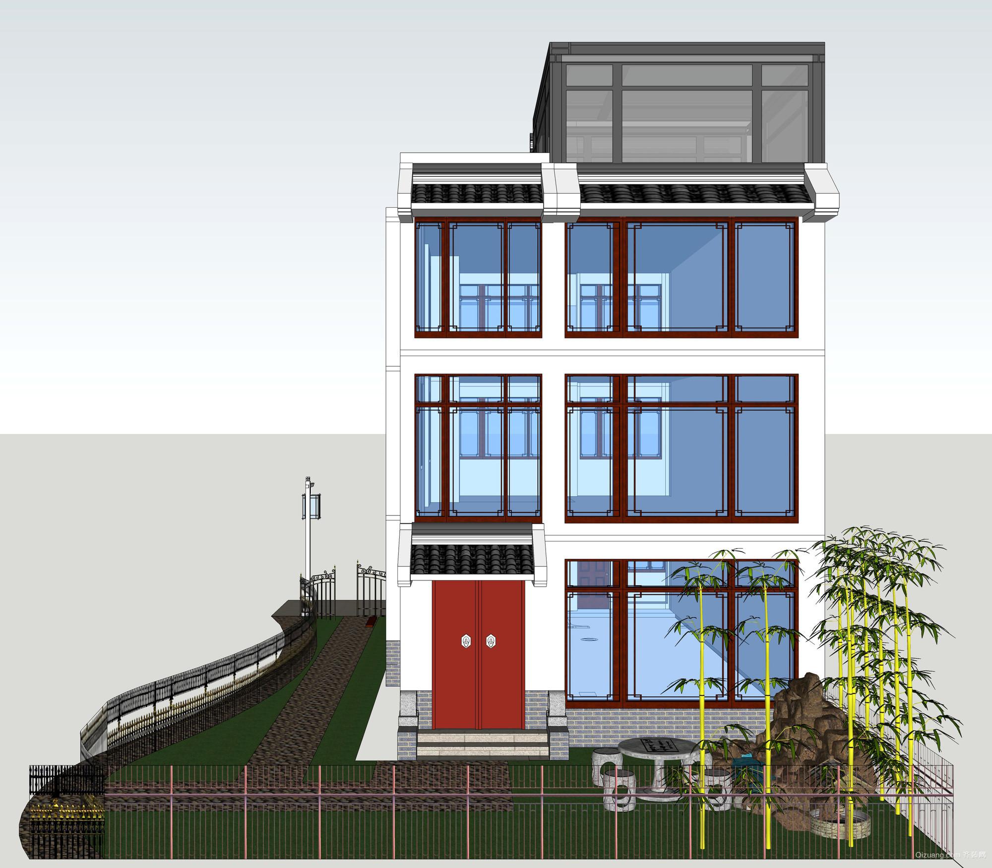 泰盛绿岛现代简约装修效果图实景图